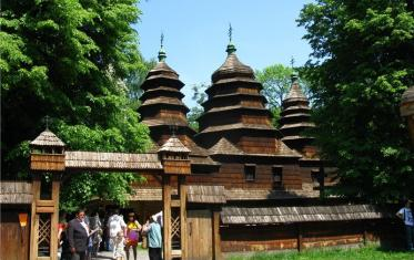 "Museum of National Folk Architecture and Rural Life ""Shevchenkivskyi Hai"""
