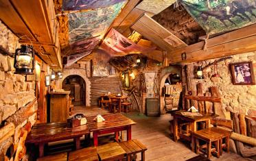 Kryivka restaurant in Lviv