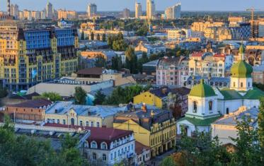 Podil the oldest districts of Kiev